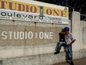 Joe-Isaacs-in-front-of-Studio-one-March-2011